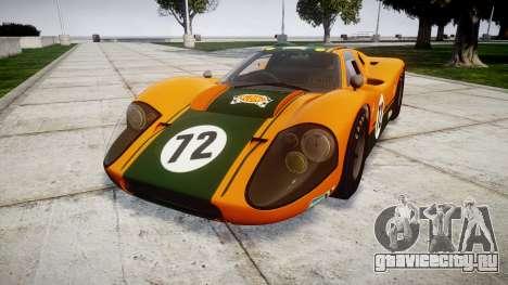 Ford GT40 Mark IV 1967 PJ Mudino 72 для GTA 4