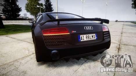 Audi R8 LMX 2015 [EPM] v1.3 для GTA 4 вид сзади слева