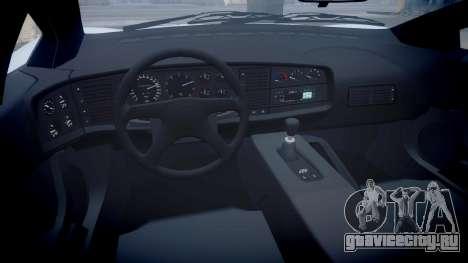 Jaguar XJ220 1992 [EPM] для GTA 4 вид сзади