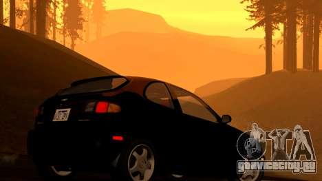 Daewoo Lanos Sport 2001 г. США для GTA San Andreas вид снизу