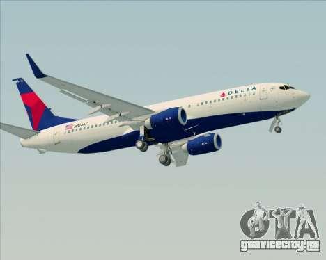 Boeing 737-800 Delta Airlines для GTA San Andreas двигатель