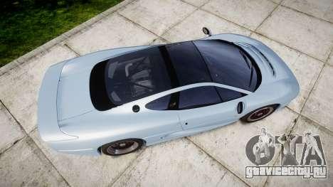 Jaguar XJ220 1992 [EPM] для GTA 4 вид справа