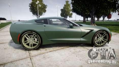 Chevrolet Corvette C7 Stingray 2014 v2.0 TirePi2 для GTA 4 вид слева