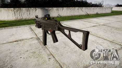 Немецкий пистолет-пулемёт HK UMP 45 target для GTA 4 второй скриншот