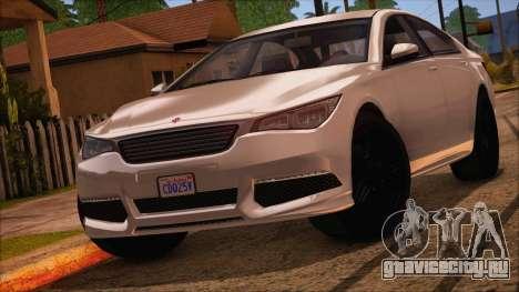 GTA 5 Ubermacht Sport IVF для GTA San Andreas