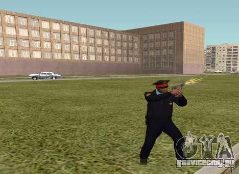 Старшина милиции для GTA San Andreas второй скриншот
