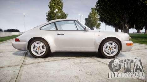 Porsche 911 (964) Coupe для GTA 4 вид слева