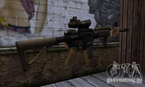 AR15 bushmaster для GTA San Andreas второй скриншот