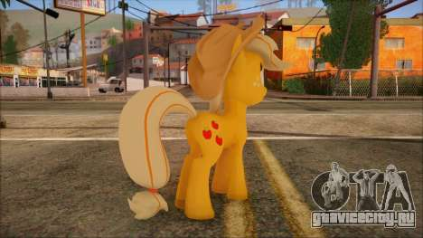 Applejack from My Little Pony для GTA San Andreas второй скриншот
