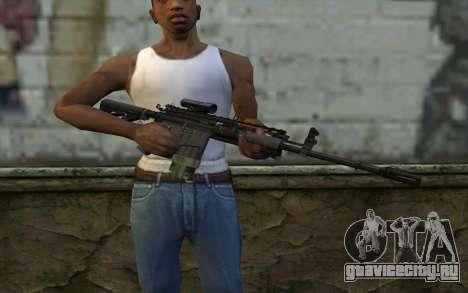 M4A1 from COD Modern Warfare 3 для GTA San Andreas третий скриншот