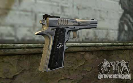 Colt 1911 Silverballer для GTA San Andreas второй скриншот