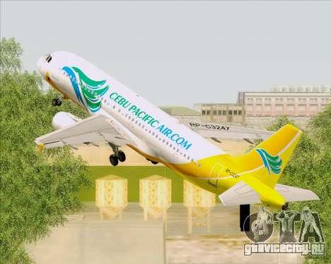 Airbus A320-200 Cebu Pacific Air для GTA San Andreas