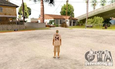 Varios Los Aztecas Gang Skin pack для GTA San Andreas шестой скриншот