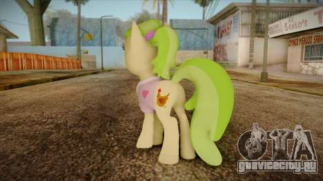 Peachbottom from My Little Pony для GTA San Andreas второй скриншот