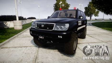 Toyota Land Cruiser 100 GOE [ELS] для GTA 4