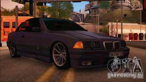BMW M3 E36 Cabrio 34 DAT 29 для GTA San Andreas