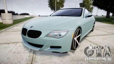 BMW M6 Vossen VVS CV3 для GTA 4