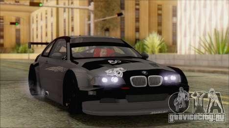 BMW M3 E46 GTR для GTA San Andreas вид сбоку