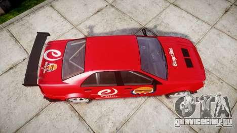 Albany Presidente Racer [retexture] eCola для GTA 4 вид справа