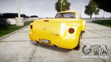 Chevrolet SSR для GTA 4 вид сзади слева