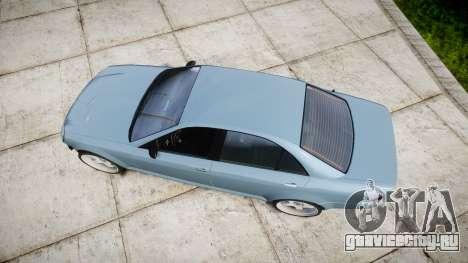 Benefactor Schafter Gen. 1 Grey Series для GTA 4 вид справа
