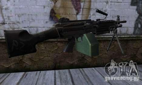 M249 v1 для GTA San Andreas второй скриншот