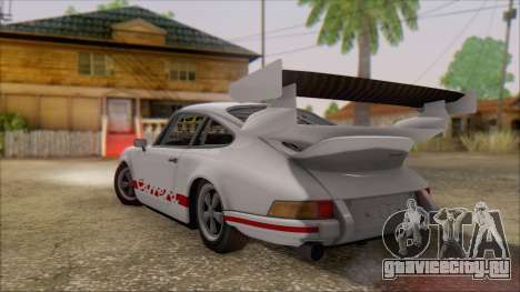 Porsche 911 Carrera 1973 Tunable KIT C для GTA San Andreas вид слева