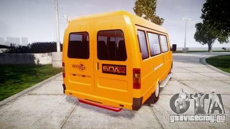 ГАЗ-3221 Газель для GTA 4 вид справа