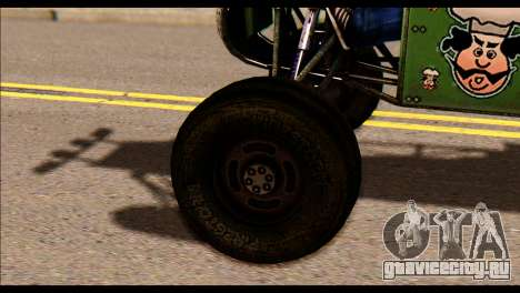 Buggy Fireball from Fireburst PJ для GTA San Andreas вид сзади слева