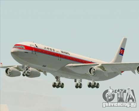 Airbus A340-300 Air Koryo для GTA San Andreas