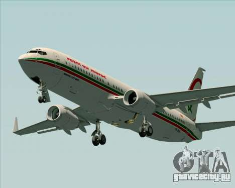 Boeing 737-8B6 Royal Air Maroc (RAM) для GTA San Andreas двигатель