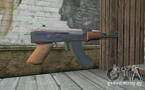 AK-47 Без Приклада для GTA San Andreas второй скриншот