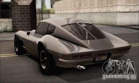 Invetero Coquette Classic v1.1 для GTA San Andreas вид слева
