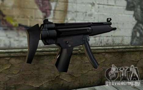 Retextured MP5 для GTA San Andreas второй скриншот