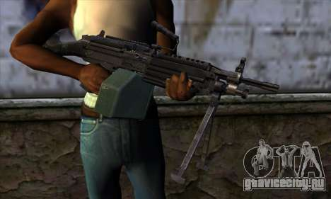 M249 v1 для GTA San Andreas третий скриншот