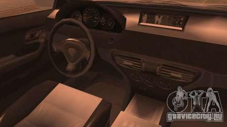 GTA 5 Ubermacht Sport IVF для GTA San Andreas вид сзади слева