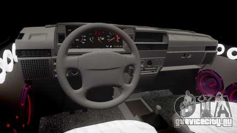 ВАЗ-2109 Девятка для GTA 4 вид изнутри