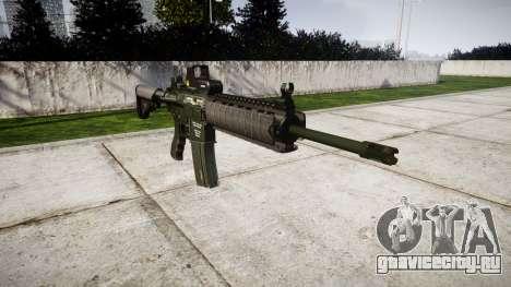 Автомат M4A1 для GTA 4