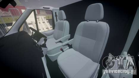 Ford Transit 2011 SuperSportVan для GTA 4 вид изнутри