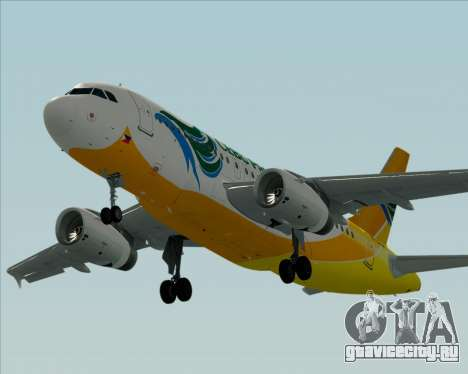 Airbus A319-100 Cebu Pacific Air для GTA San Andreas вид сбоку