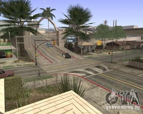 Текстуры Los Santos из GTA 5 для GTA San Andreas второй скриншот
