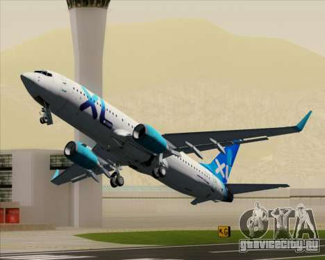 Boeing 737-800 XL Airways для GTA San Andreas