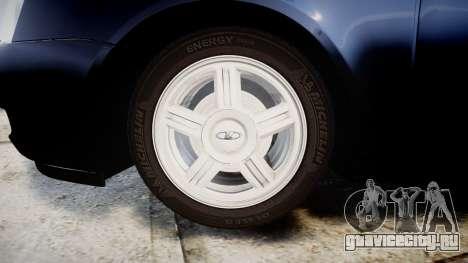 ВАЗ-2170 Lada Priora stock для GTA 4 вид сзади