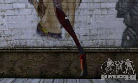Bloody Machete from Far Cry для GTA San Andreas