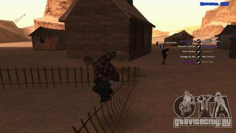 ped.ifp by Pavel_Grand для GTA San Andreas третий скриншот