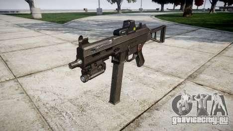 Немецкий пистолет-пулемёт HK UMP 45 target для GTA 4