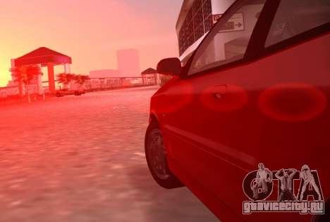 Daewoo Lanos Sport 2001 г. США для GTA Vice City вид сбоку