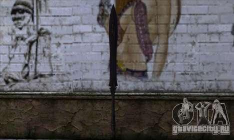Unnamed Sword для GTA San Andreas