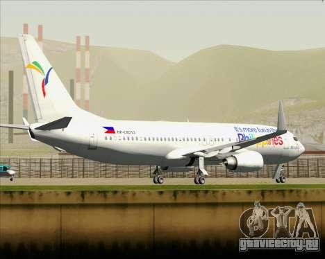 Boeing 737-800 South East Asian Airlines (SEAIR) для GTA San Andreas колёса