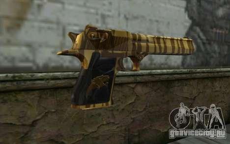 Desert Eagle Gold v1 для GTA San Andreas второй скриншот